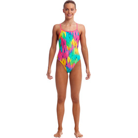 Funkita Single Strap One Piece Traje de Baño Niñas, ruffles